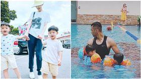 飛飛翔翔兄弟、「范范」范瑋琪、「黑人」陳建州(組合圖/翻攝自fanfan Instagram)