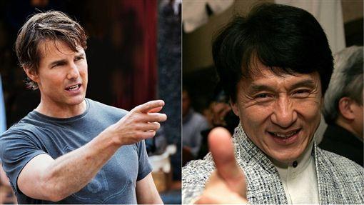 成龍,湯姆克魯斯/翻攝自臉書