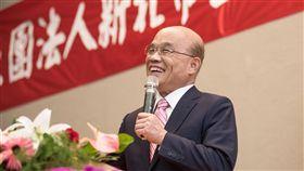新北市長,蘇貞昌,侯友宜,自打臉,選舉(圖/翻攝自蘇貞昌臉書)