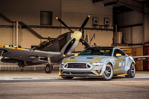 Eagle Squadron Mustang GT。(圖/翻攝Ford網站)