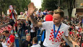 55萬克國人 夾道歡迎世足英雄 世足,世界盃,克羅埃西亞,慶祝,歸國,札格瑞布,Zlatko Dalić 翻攝自推特