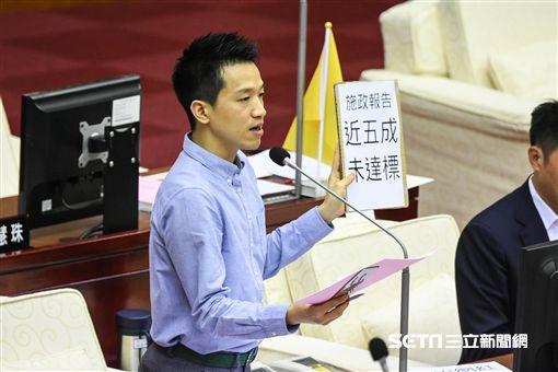 台北市議員何志偉。 (圖/記者林敬旻攝)