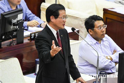 台北市議員周柏雅。 (圖/記者林敬旻攝)