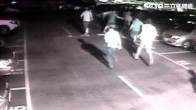 台北市一連發生2起槍擊案,起因於黑幫份子先後在安和路及二殯兩度大亂鬥,還一連開了15槍之多(翻攝畫面)
