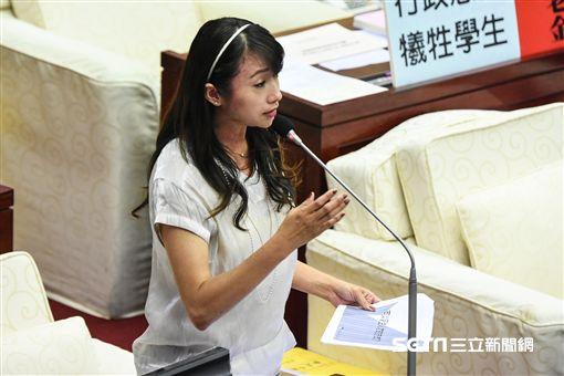 台北市議員許淑華。 (圖/記者林敬旻攝)