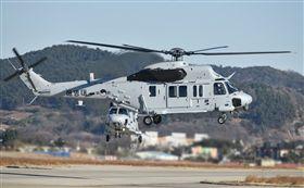 南韓國造直升機MUH-1型,亦名Marineon。(圖/翻攝自@AirCrashMayday)