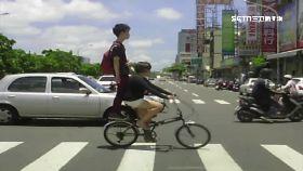 單車雙載罰1800