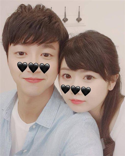 福原愛,江宏傑/翻攝自福原愛臉書