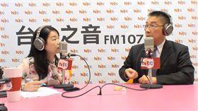 內政部長徐國勇18日上午接受廣播節目「蔻蔻早餐」專訪。(蔻蔻早餐直播截圖)