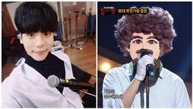 SHINee,鐘鉉,嘆息,蒙面歌手,鮑伯魯斯(圖/翻攝自鐘鉉IG、YouTube)
