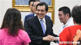前總統馬英九說明三中案。 (圖/記者林敬旻攝)