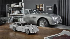 Lego版Aston Martin DB5。(圖/翻攝Lego網站)