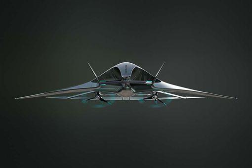 Aston Martin Volante Vision飛天車。(圖/翻攝hiconsumption網站)