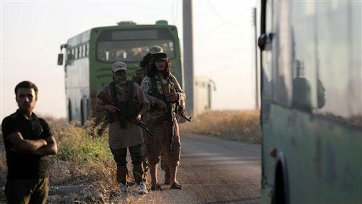 俄土達協議 親政府軍民撤出敘利亞圍城,圖/路透社/達志影像