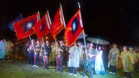 緬懷八二三砲戰60年 夜行軍體驗保家衛國