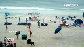 海灘傘插人1200