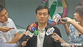 民進黨秘書長洪耀福談三中案(圖/記者李英婷攝)