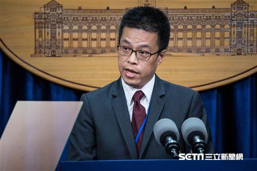總統府發言人黃重諺 圖/記者林敬旻攝