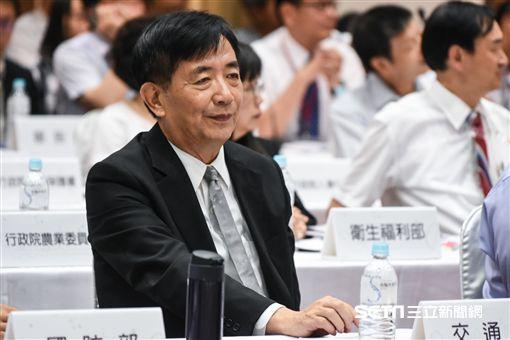 交通部長吳宏謀出席首長災害防救交流分享座談會。 (圖/記者林敬旻攝)