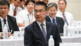 內政部長徐國勇出席首長災害防救交流分享座談會。 (圖/記者林敬旻攝)