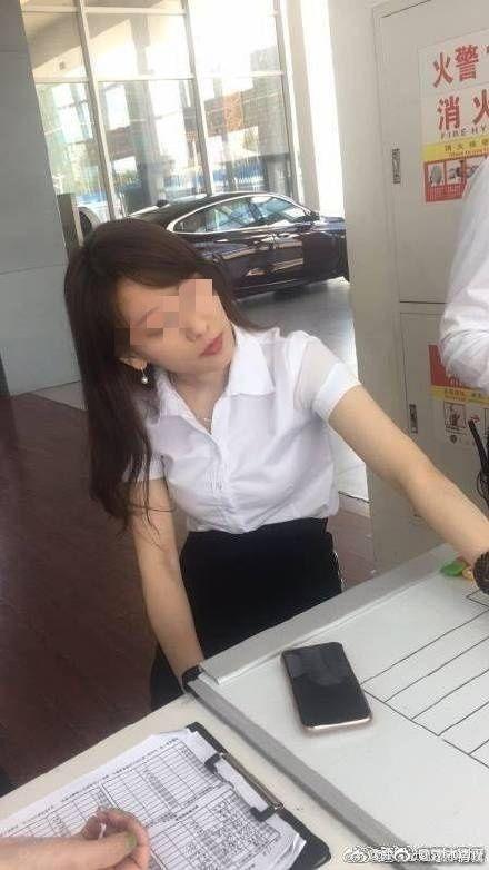 多圖/神正女業務為業績不擇手段 1分鐘影片慘遭流出圖/翻攝自微博