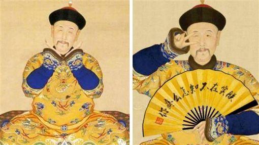 雍正、四爺(組圖/翻攝自北京故宮微博)