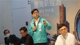 高雄市長參選人陳其邁,港灣新經濟