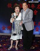 周遊、李朝永夫婦也出席餐廳開幕。(記者邱榮吉/攝影)