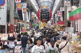 日本黑門市場迎萬名遊客 與在地共存共