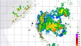 0722熱帶低壓警報持續 圖/氣象局