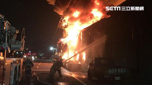 新北,泰山,火警,工廠(圖/翻攝畫面)