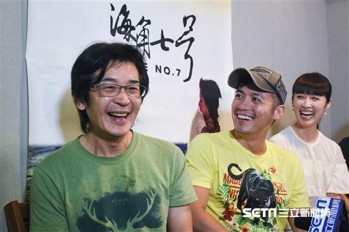 海角七號專訪,導演魏德聖、范逸臣。 圖/記者林敬旻攝