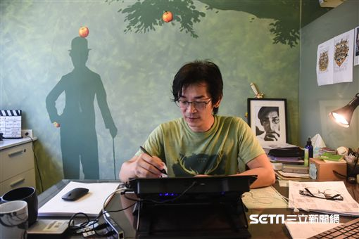 海角七號專訪,導演魏德聖。 圖/記者林敬旻攝