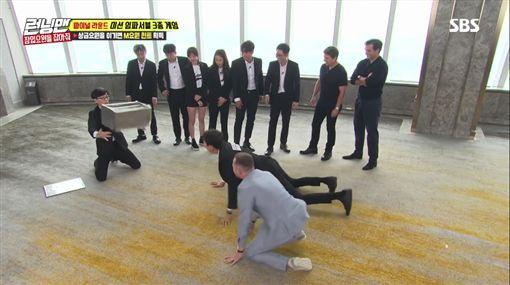 Running Man,湯姆克魯斯,亨利卡維爾,賽門佩吉/翻攝自SBS YouTube