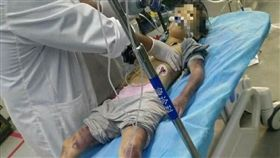 中國海南省萬寧市,6歲女兒,皮鞭抽打1小時(圖/翻攝自千奇百怪突發事臉書)