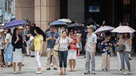 東京今日中午出現40.3度高溫(圖/翻攝自推特)
