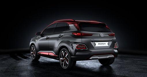 Hyundai Kona Iron Man Edition。(圖/翻攝Hyundai網站)