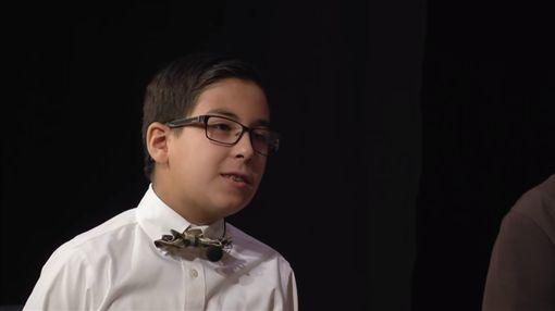 美國天才兒童梅里斯(William Maillis)(圖/翻攝YouTube)