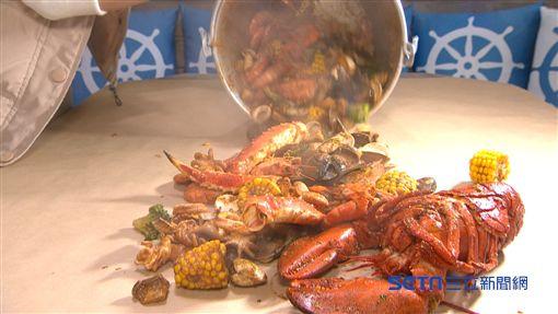 手抓爽吃桶裝海鮮,龍蝦、帝王蟹腳通通有!