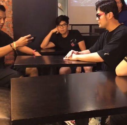 周杰倫,昆凌,陳建州,偶遇,咖啡廳(圖/翻攝自微博)
