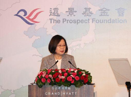 蔡總統出席2018凱達格蘭論壇開幕式總統蔡英文24日在台北出席「凱達格蘭論壇:2018亞太安全對話」,為開幕式致詞。中央社記者張皓安攝  107年7月24日