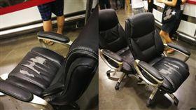 好市多椅子「才」坐2年要退貨 照片曝光!網論戰(圖/翻攝自Costco好市多 商品經驗老實說臉書)