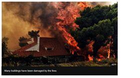 野火襲擊希臘 雅典度假勝地成煉獄 希臘,雅典,Mati,野火,森林大火,Alexis Tsipras https://www.bbc.com/news/world-europe-44932366
