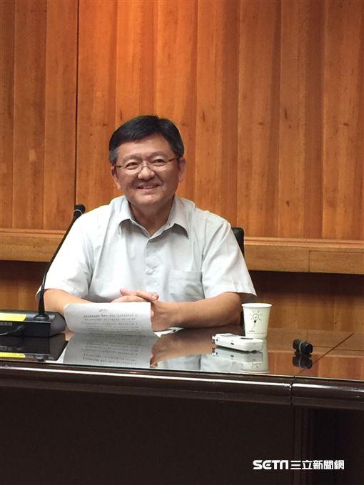 體育署副署長林哲宏。(記者劉忠杰攝影)