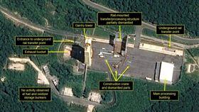 北韓開始拆除其主要衛星發射場「西海衛星發射場」(圖/翻攝自38north)