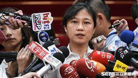 行政院發言人kolas yotaka谷辣斯出席首長災害防救交流分享座談會。 (圖/記者林敬旻攝)