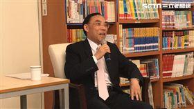 法務部長蔡清祥,談死刑。潘千詩攝影