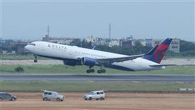 達美航空公司退出台灣市場(圖/中央社)