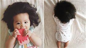 日本,嬰兒,女嬰,髮量,babychanco 圖/翻攝自IG