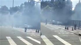 美國北京大使館爆炸(圖/翻攝自YouTube)